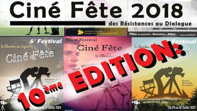 Actualités - Ciné Fête 2018