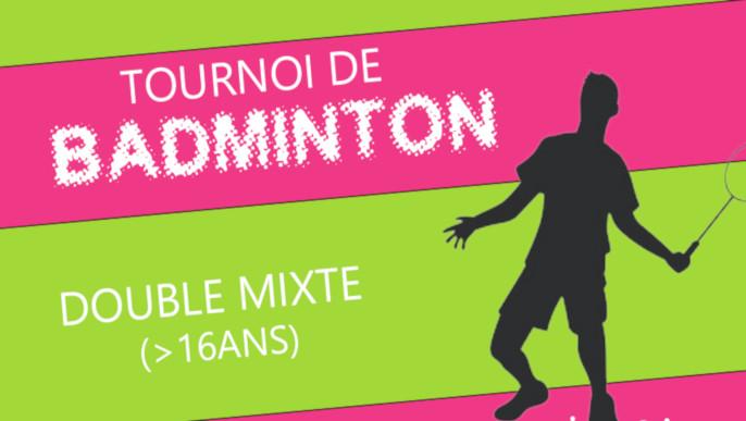 Actualités - Tournoi de Badminton