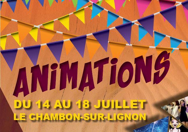 Actualités - Programme des animations