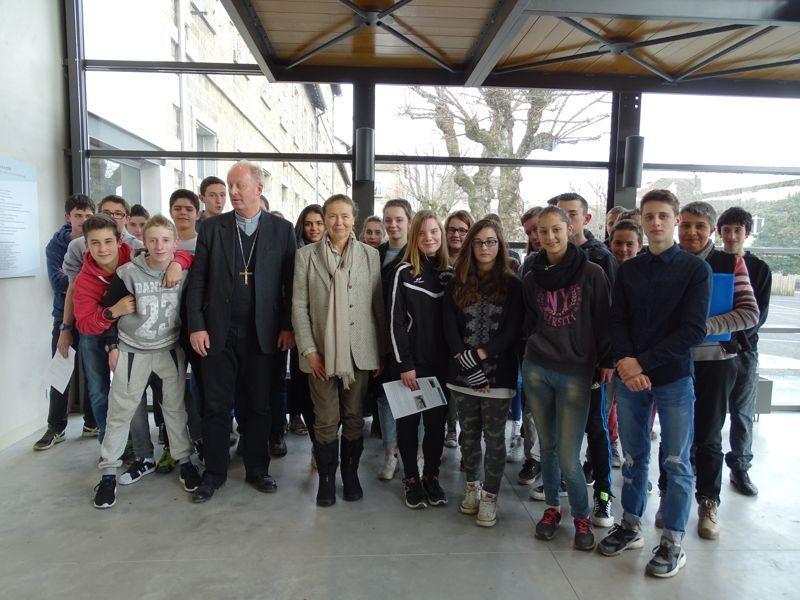 Visite Monseigneur Crépy