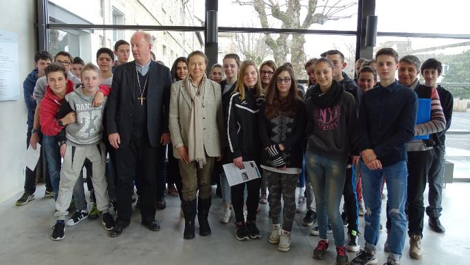 Actualités - Visite de Monseigneur Luc Crépy