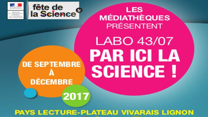 Actualités - Fête de la science