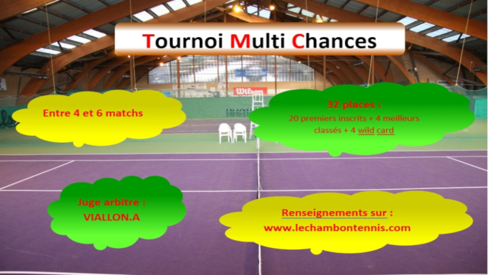 Tournoi Multi Chances