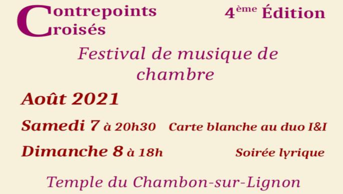 Festival Contrepoints croisés