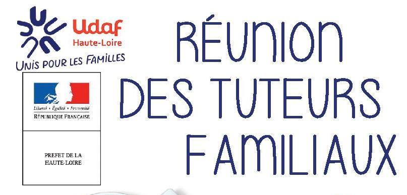 RÉUNION DES TUTEURS FAMILIAUX